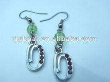 zinc alloy earring