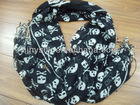 100%Acrylic Printed Scarf/2013Fashion Accessories