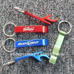aluminium key chain bottle opener