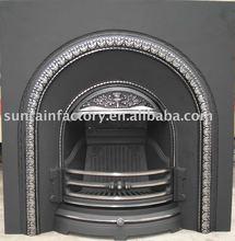 cast iron wood burning fireplace(JX072)