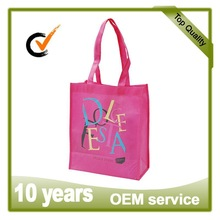 TDC Exhibitor,D&B checked and BV verified customized cute nonwoven shopping bag