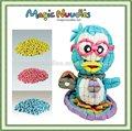 Juguete popular, maravilloso de maíz bebé educativos juguetes de juego, magia nuudles