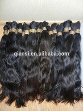 Fashion export virgin remy human hair ,brazilian hair bulk