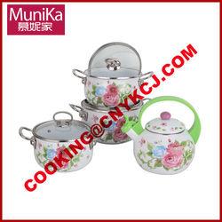 cast porcelain enamel cookware/ceramic kitchen cookware/porcelain cookware/cast porcelain cookware