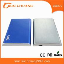 2.5 USB2.0 Aluminum 1TB Portable External Hard Disk Drive