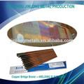 China de fábrica directamente a5.1 de carbono de acero cubierto de soldadura por arco electrodo j421 1/16''- 5/16''