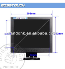 """Best service 12.1"""" 12"""" inch LCD touch screen monitor for TV/POS system cash register VGA HDMI"""