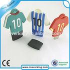 promotional gift sport T-shirt pvc usb flash drive lot