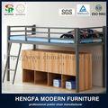 Caliente venta dormitorio muebles para niños de metal moderno literas