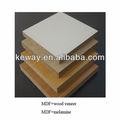 de alta calidad mdf melamínico junta de chapa de madera