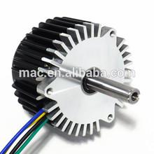 Mac 2hp dc electric motor , 2hp brushless dc motor 3000rpm