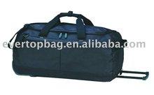 Simple custom fashion black carry on school trolley bag