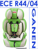 Safety car baby seat with ECER44/04 certification(group 1+2), for 1-6 years old baby