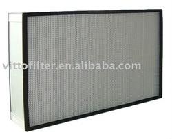 HEPA Filter,Deep-pleat high efficiency filter