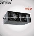 line arrays, speaker enclosures, Pro audio (W8LM)