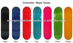 skateboard decks
