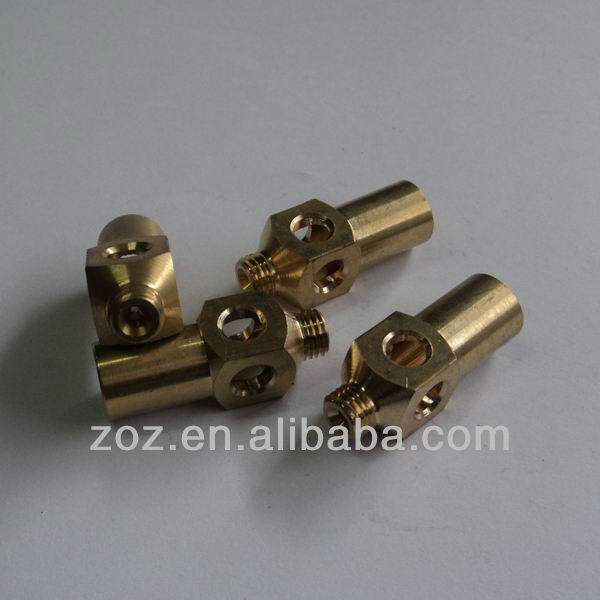 Brass jet burner gas nozzle