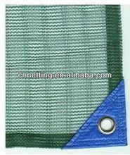 Warp knitted green PE Olive net in piece