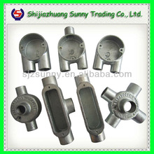 Hot Dipped Galvanized Malleable Iron Electrical Conduit Box metal box electrical conduit box
