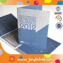2015 Tri-fold Brochure Printing&Video Brochure&brochure design