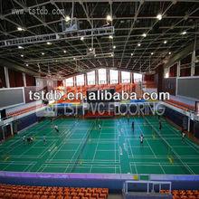 Standard indoor badminton court flooring/sports flooring