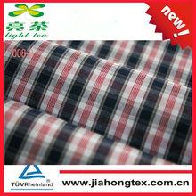 Yarn Dyed Woven Cotton 100% organic fabric