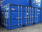 20ft Open Side Shipping Container; (with flexible open side door