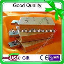 OEM Natural wooden book shape / holy bible usb flash drive 1gb 2gb 4gb 8gb 16gb (aiyze factory Welcome to order)