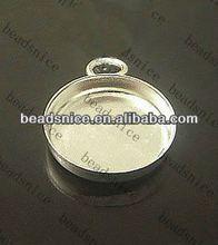 Beadsnice 13960 glue on bails big brass pendant