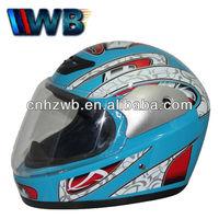 custom full face brim helmets