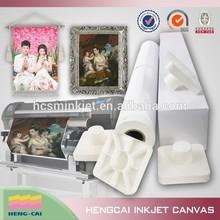 260g matte white inkjet canvas for photo print