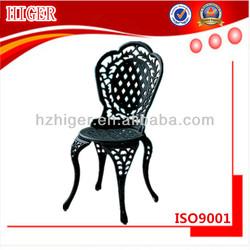 sand casting chair cast iron garden furniture