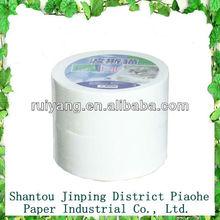 100% virgin wood pulp napkin Jumbo roll 2Ply X2400Sections 2rolls/bundle Jumbo paper tissue paper Toilet roll