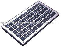 Mobile phone slim handheld bluetooth keyboard