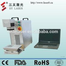 20W fiber laser marking machine/fiber laser marker/Digital laser marking head