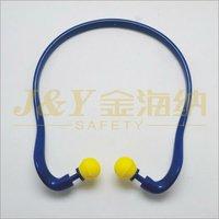 2014 Hot sales hearing protect Taper Shape Banded Earplug