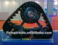 Rubber track kits for Car,pickup truck,tractor, special agricultural vehicle