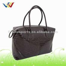 Branded PVC Leather Handbag