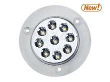 Clear Cased LED Hitch Light 12v trailer light
