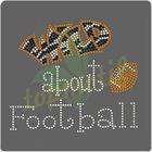 Hotfix Patterns Wild Football Letter Design, Korean Rhinestone