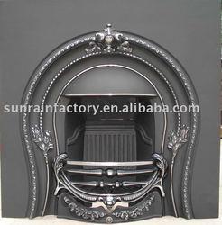 Cast iron wood burning indoor fireplace/stove