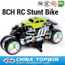 8CH RC Stunt Bike REC666-KX01 r/c stunt car toy