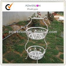 Elegant Decorative Metal Garden Basket For Sale