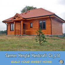canadian prefabricated wood house/timber villa/log homes