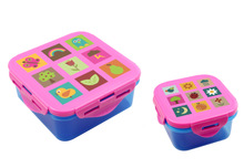 Promotion food container,high quality plastic lunch box,hot selling plastic container