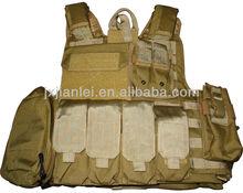 Molle Army Combat Vest/Quick Release Bullet Proof Tactical Vest/Bulletproof Vest