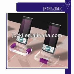 Acrylic mobile phone display rack