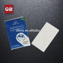 flushable/portable toilet seat cover paper