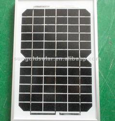 Mini poly solar panel 5w for Street light system