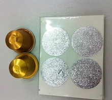37mm aluminum coffee capsules use refilling seal lids